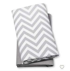Fitted playard sheets - 2pk